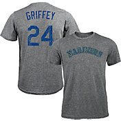 Majestic Threads Men's Seattle Mariners Ken Griffey Jr. Tri-Blend T-Shirt