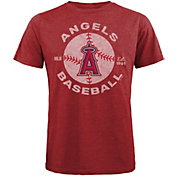 Majestic Threads Men's Los Angeles Angels Tri-Blend T-Shirt