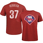 Majestic Threads Men's Philadelphia Phillies Odubel Herrera Tri-Blend T-Shirt