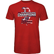 Majestic Threads Men's 2018 AL Champions Boston Red Sox Red Locker Room T-Shirt