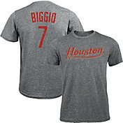 Majestic Threads Men's Houston Astros Craig Biggio Tri-Blend T-Shirt