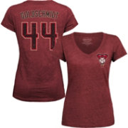 Majestic Threads Women's Arizona Diamondbacks Paul Goldschmidt Red V-Neck T-Shirt