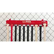 Markwort Aluminum 10 Bat Fence Rack