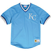 Mitchell & Ness Men's Replica Kansas City Royals Light Blue Cooperstown Jersey