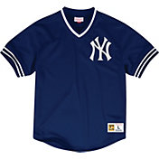 Mitchell & Ness Men's Replica New York Yankees Navy Cooperstown Jersey