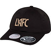 Mitchell & Ness Men's Los Angeles FC Light Dry Strap Black Adjustable Hat