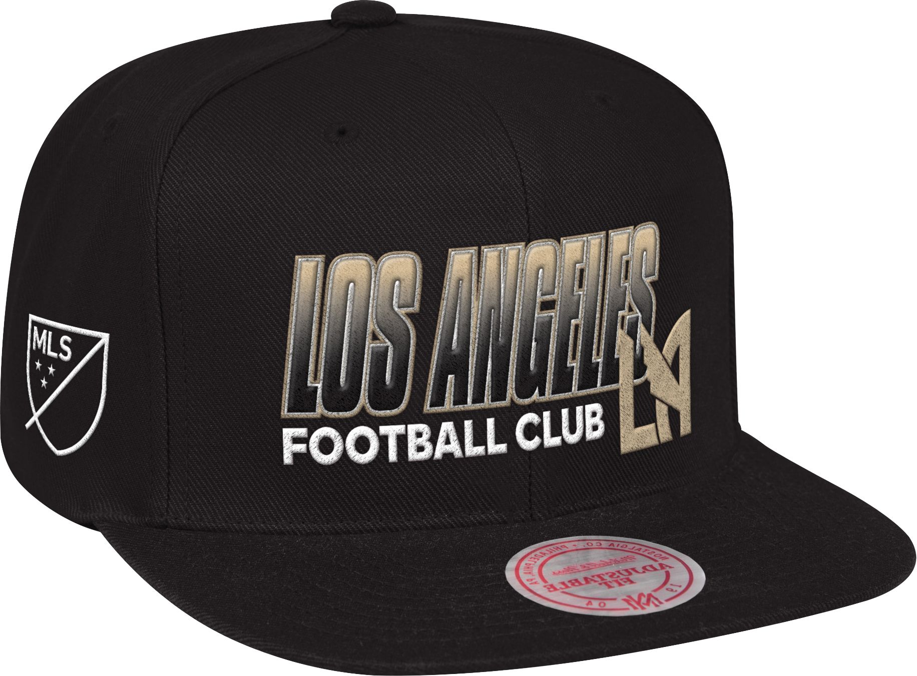 new product 0b160 88ca8 ... italy mitchell ness mens los angeles fc score keeper black snapback  adjustable hat e7d73 df33f