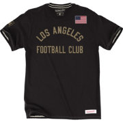 Mitchell & Ness Men's Los Angeles FC Tailor Black T-Shirt