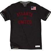 Mitchell & Ness Men's Atlanta United Tailor Black T-Shirt