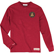 Mitchell & Ness Men's Atlanta United First Round Red Long Sleeve Shirt