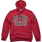 Mitchell & Ness Men's Atlanta United Playoff Win Red Pullover Hoodie