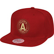 Mitchell & Ness Men's Atlanta United Zigzag Red Snapback Adjustable Hat