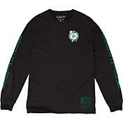 Mitchell & Ness Men's Boston Celtics Long Sleeve Shirt