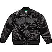 Mitchell & Ness Men's Boston Celtics Black Satin Jacket