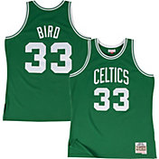 Mitchell & Ness Men's Boston Celtics Larry Bird #33 Hardwood Classics Swingman Jersey