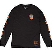 Mitchell & Ness Men's New York Knicks Long Sleeve Shirt
