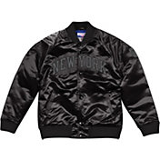 Mitchell & Ness Men's New York Knicks Black Satin Jacket