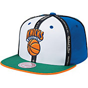 "Mitchell & Ness Men's New York Knicks ""Rally Cap"" Adjustable Snapback Hat"