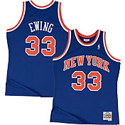 Mitchell & Ness Men's New York Knicks Patrick Ewing #33 Hardwood Classics Swingman Jersey