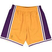 Mitchell & Ness Men's Los Angeles Lakers Hardwood Classics Swingman Shorts