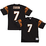 Mitchell & Ness Men's 1989 Home Game Jersey Cincinnati Bengals Boomer Esiason #7