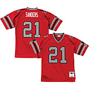 Mitchell & Ness Men's 1989 Home Game Jersey Atlanta Falcons Deion Sanders #21