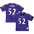 Mitchell & Ness Men's 2000 Home Game Jersey Baltimore Ravens Ray Lewis #52