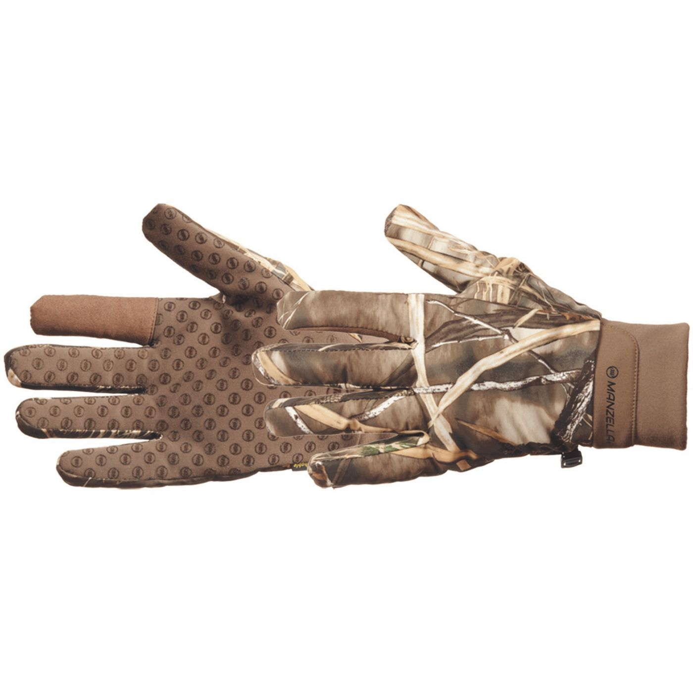 Manzella Men's Waterfowl Shooter Gloves