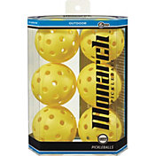 Monarch Outdoor Pickleballs 6-Pack