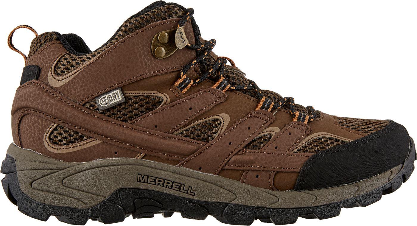 Merrell Kids' Moab 2 Mid Waterproof Hiking Boots