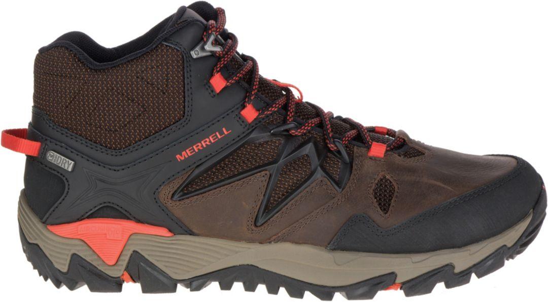 9e0fb3e7389 Merrell Men's All Out Blaze 2 Mid Waterproof Hiking Boots