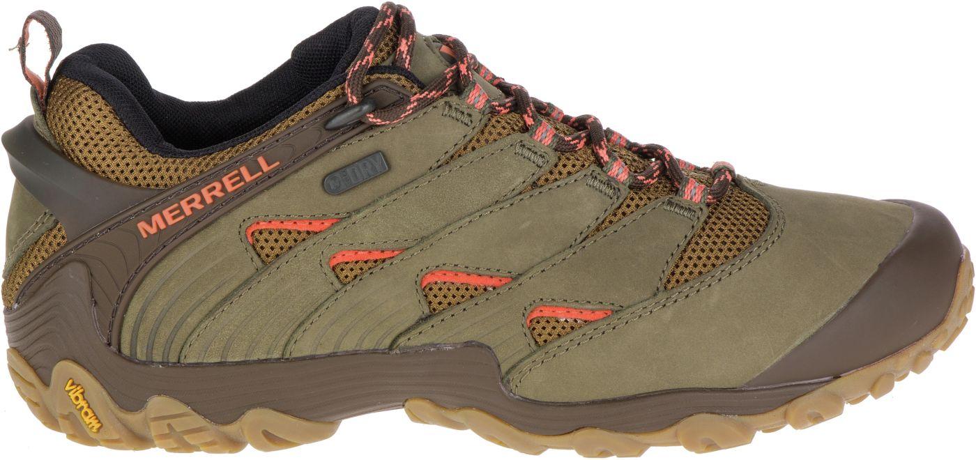 Merrell Women's Chameleon 7 Waterproof Hiking Shoes