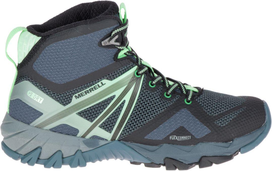 8b0fa57cfca Merrell Women's MQM Flex Mid Waterproof Hiking Boots