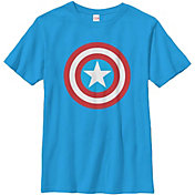 Fifth Sun Boys' Marvel Capn Shield Graphic T-Shirt