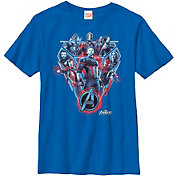 Fifth Sun Boys' Marvel Avengers Infinity Wars Royal Graphic Tee