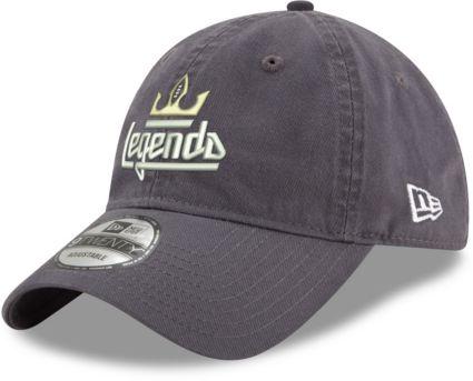 New Era Men s Atlanta Legends 9Twenty Dark Graphite Adjustable Hat.  noImageFound e410f5ea5331