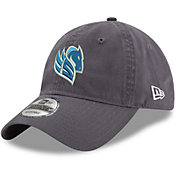 New Era Men's Salt Lake Stallions 9Twenty Dark Graphite Adjustable Hat