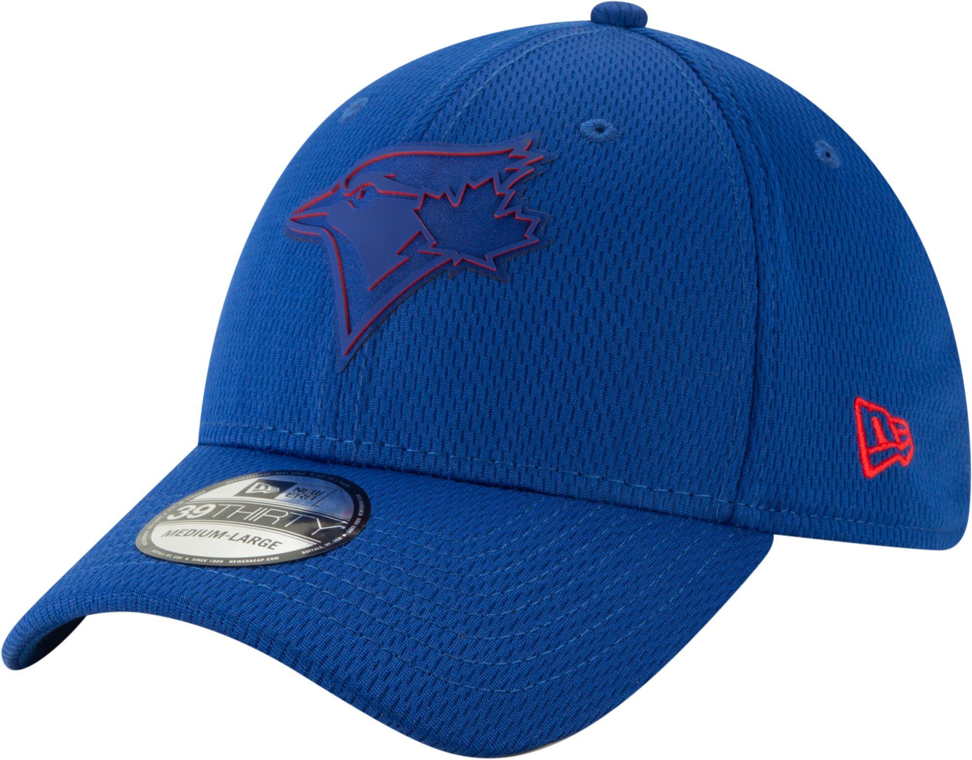 a79160506 New Era Men's Toronto Blue Jays 39Thirty Clubhouse Royal Stretch Fit ...