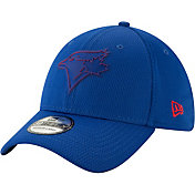 New Era Men's Toronto Blue Jays 39Thirty Clubhouse Royal Stretch Fit Hat