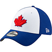 New Era Men's Toronto Blue Jays 39Thirty HexTech Batting Practice Stretch Fit Hat