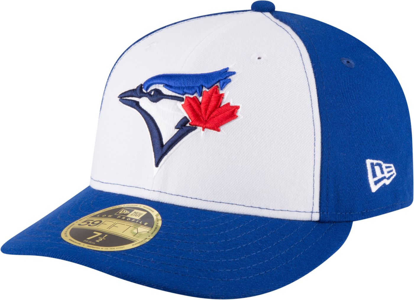 New Era Men's Toronto Blue Jays 59Fifty Alternate White/Royal Low Crown Fitted Hat