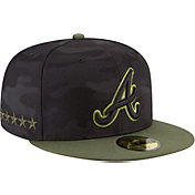 New Era Men's Atlanta Braves 59Fifty 2018 Memorial Day Fitted Hat