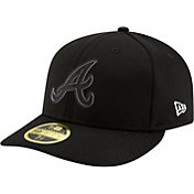 New Era Men's Atlanta Braves 59Fifty Clubhouse Black Fitted Hat