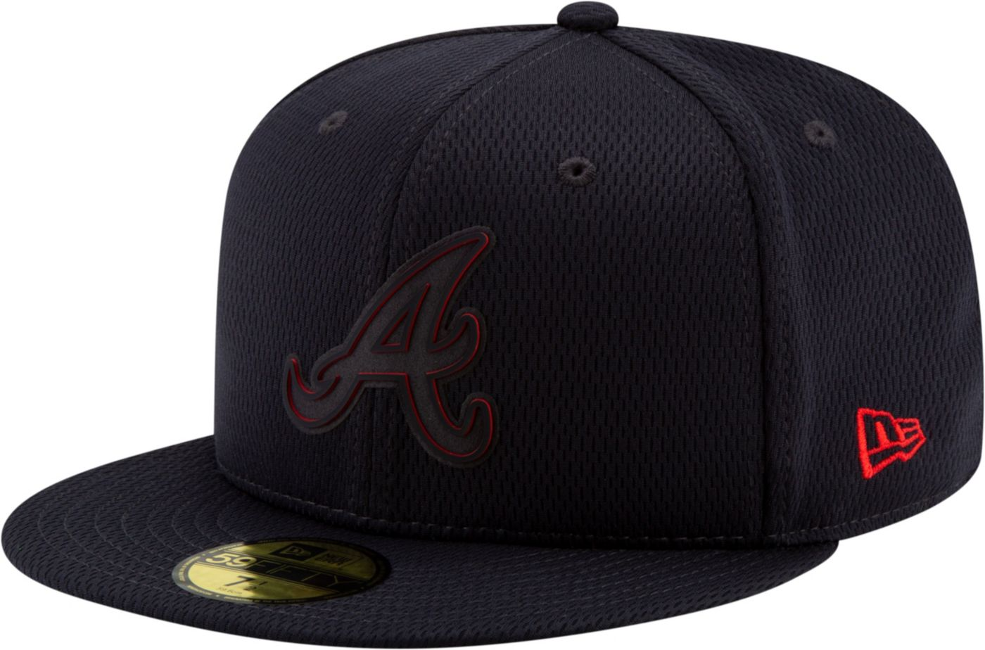 New Era Men's Atlanta Braves 59Fifty Clubhouse Navy Fitted Hat