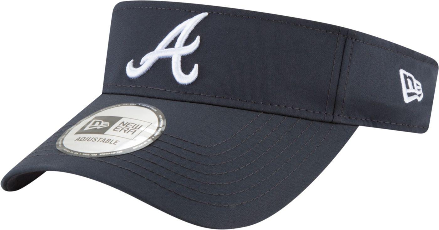 New Era Men's Atlanta Braves Clubhouse Adjustable Visor
