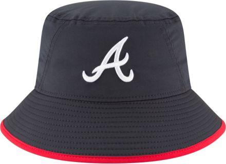 super popular 777b0 71d4d New Era Men  39 s Atlanta Braves Clubhouse Bucket Hat
