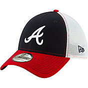 New Era Men's Atlanta Braves 39Thirty Practice Piece Stretch Fit Hat