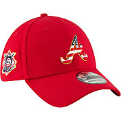 New Era Men's Atlanta Braves 39Thirty 2018 4th of July Stretch Fit Hat