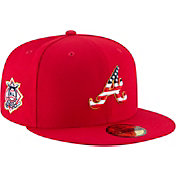 New Era Men's Atlanta Braves 59Fifty 2018 4th of July Fitted Hat