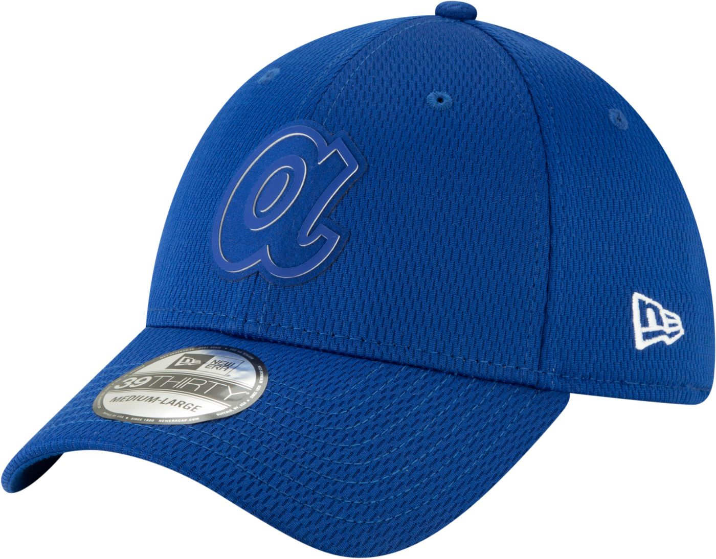 New Era Men's Atlanta Braves 59Fifty Clubhouse Royal Fitted Hat